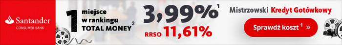 Santander kredyt gotówkowy